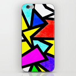 Mosaic burd iPhone Skin