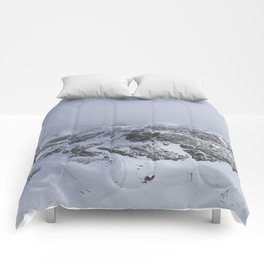 Mountains in June Comforters