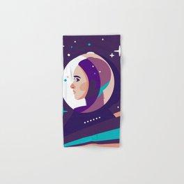 Space Girl Hand & Bath Towel