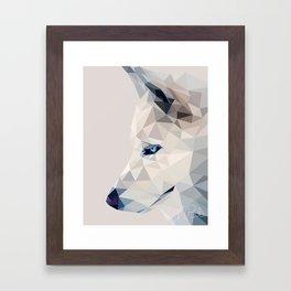 Winter, the Wolf Framed Art Print