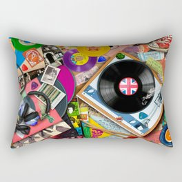 Viva le Vinyl Rectangular Pillow