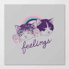 Feelings Canvas Print