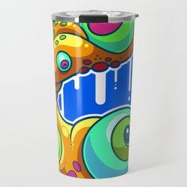Wild Doodle Travel Mug