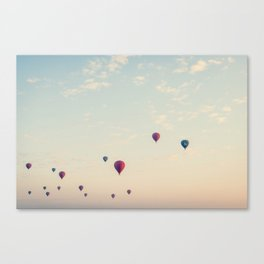 Balloons Fill the Sky Canvas Print