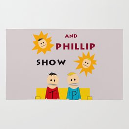 The Terrance and Phillip Show Poster Rug