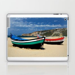 Colorful fishingboats Laptop & iPad Skin