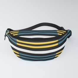 Colorful stripes Fanny Pack