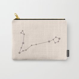 Pisces Zodiac Constellation Neutral Rose Carry-All Pouch