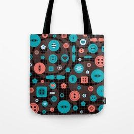button it Tote Bag