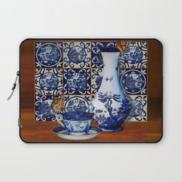 Blue Willow Stillife Laptop Sleeve