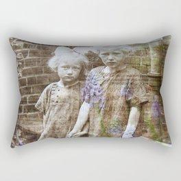 Sisters Vintage Rectangular Pillow