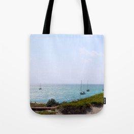 Sun Dance Cove Tote Bag