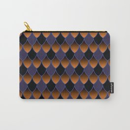 Squama Fhish Dark Pattern Carry-All Pouch