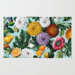 Summer Fruit Garden Rug