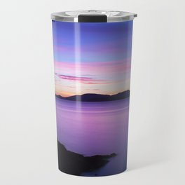 Vibrant Sunset Travel Mug