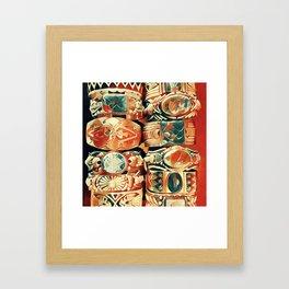 Western Bracelet Collection Framed Art Print