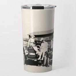 """Rough-riding"" Bathing Beauties at Seal Beach, CA, 1917 Travel Mug"