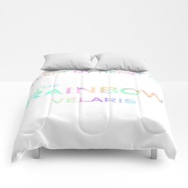 I left my heart at the rainbow Velaris Comforters
