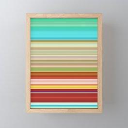 Stripes II Framed Mini Art Print