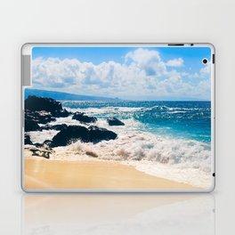 Hookipa Beach Maui Hawaii Laptop & iPad Skin