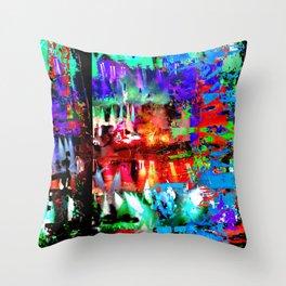 Caspian Limelight Throw Pillow