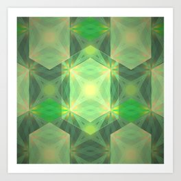 Gem light Art Print