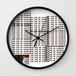 The Life Of Charlie Wall Clock
