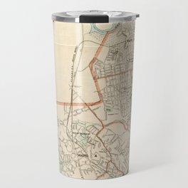 Vintage Map of Quincy MA (1907) Travel Mug