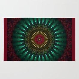 Gothic Mandala Rug