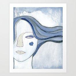 The Chosen Moth by Alma Stoller Art Print