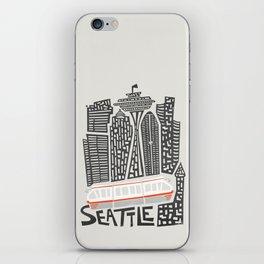 Seattle Cityscape iPhone Skin