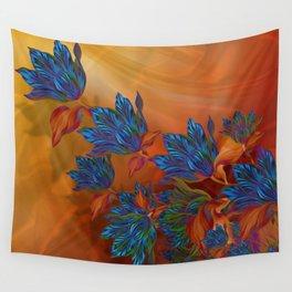 Silk painting wall tapestries society6 mightylinksfo