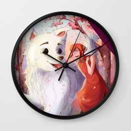 Kagura & Sadaharu Wall Clock