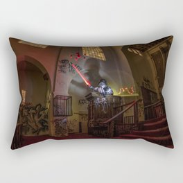 """Welcome To """"The Force Church""""  Rectangular Pillow"""