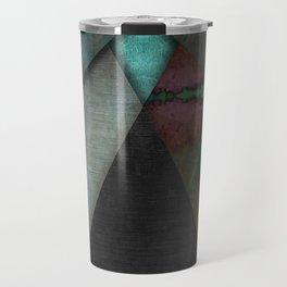"""""""Grunge metal pattern"""" Travel Mug"""