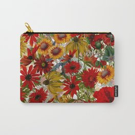Vintage & Shabby Chic - Colorful End Of The Summer Carry-All Pouch