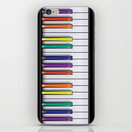 Colour Your Music iPhone Skin