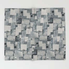 Pave Gray Throw Blanket