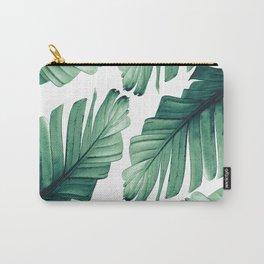 Tropical Banana Leaves Dream #3 #foliage #decor #art #society6 Carry-All Pouch
