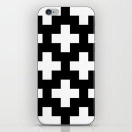 Swiss Cross W&B iPhone Skin