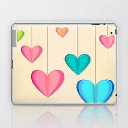 Hangin Hearts Laptop & iPad Skin