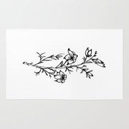 Carolina Jessamine Wildflower Rug