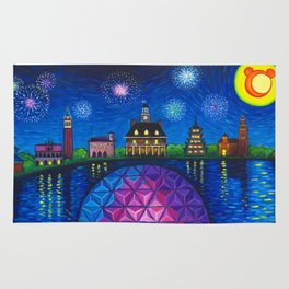 Starry Night Over Epcot Rug