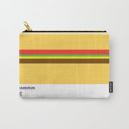 Pantone Food - Hamburger Carry-All Pouch
