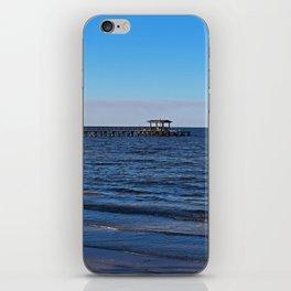 Bokeelia Blue iPhone Skin
