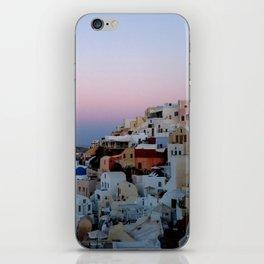 Dawn of Santorini Greece iPhone Skin