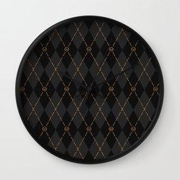 Modern Gentleman's Armour Wall Clock