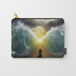 Moses splits the sea Carry-All Pouch