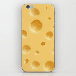 cheese iPhone Skin