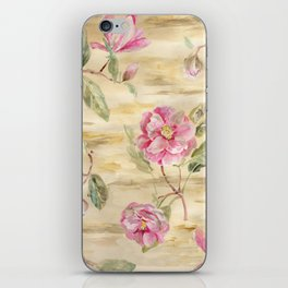 magnolia gold iPhone Skin